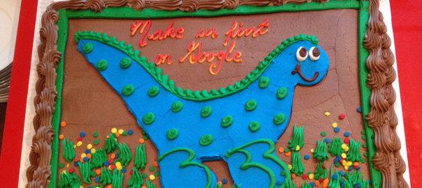 Confab Higher Ed 2014 Cake - Make Me First on Google!