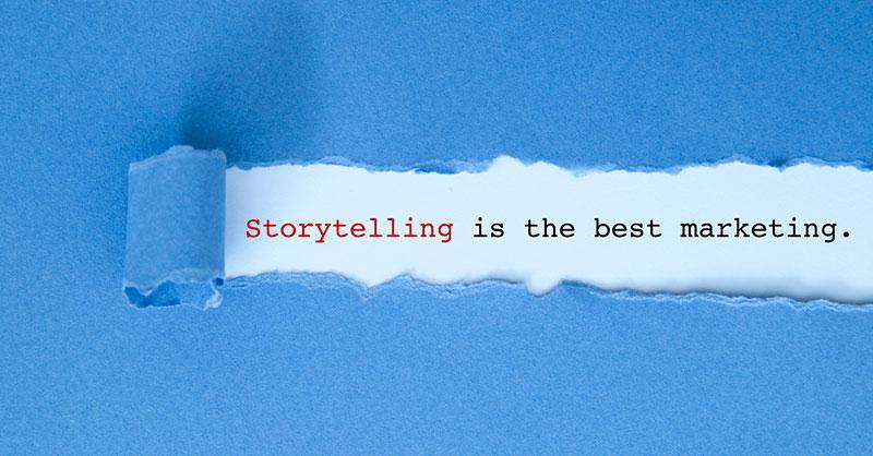 content marketing writer - storytelling