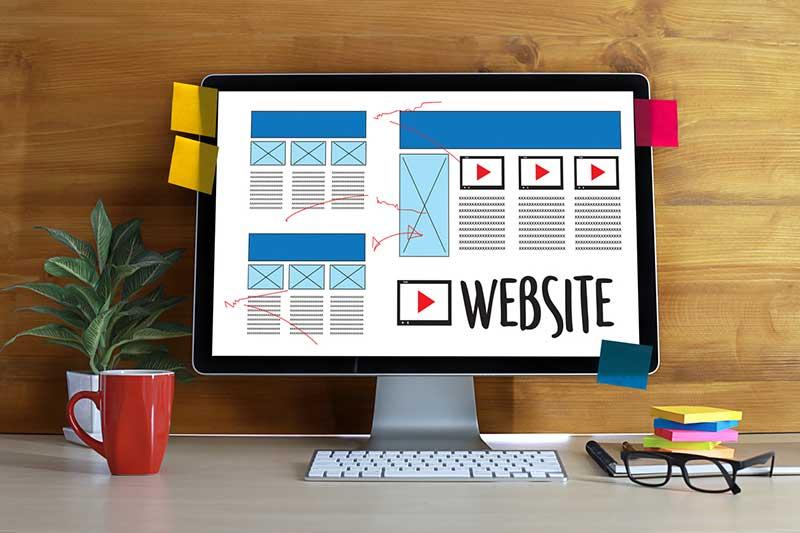 website content refresh
