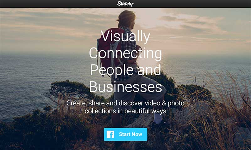 Slidely - best tools for creating eye-popping visuals in 2020