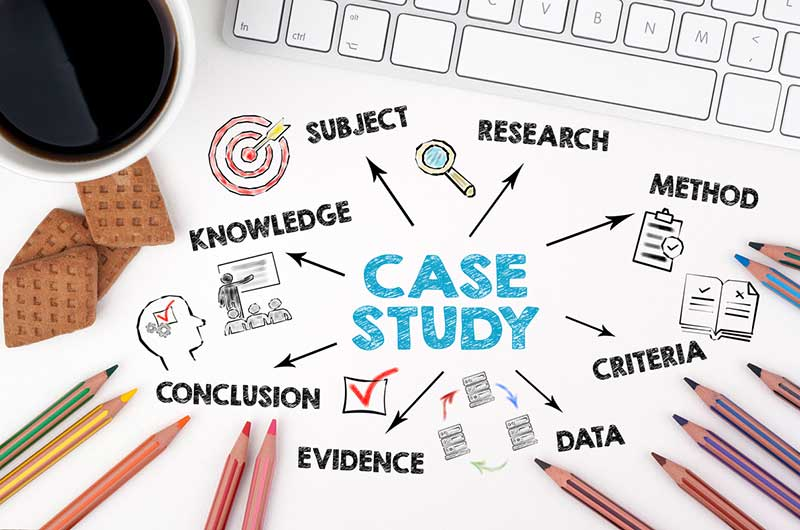 build credibility with case studies