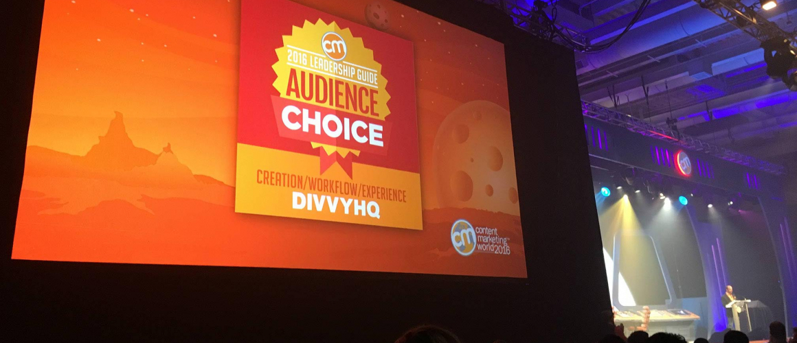 DivvyHQ Voted #1 Content Creation, Workflow & Experience Platform