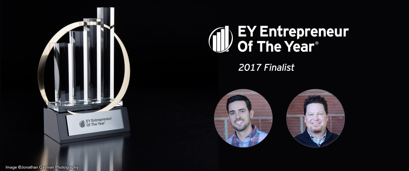EY Announces Brock Stechman and Brody Dorland Entrepreneur Of The Year® 2017 Award Finalists in the Central Midwest