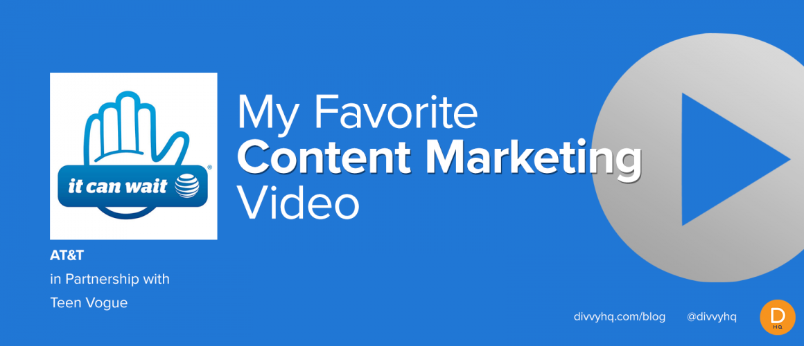 """My """"NEW"""" Favorite Content Marketing Video Could Save Your Life"""