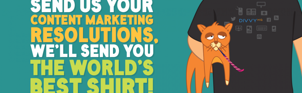 New Year's Content Marketing Resolutions – Wrap Up