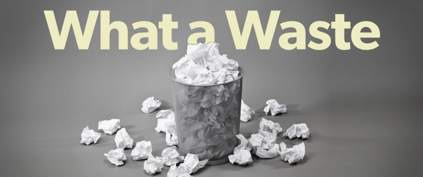 What a Waste – How Much is Your Content Marketing Process Costing You?